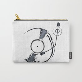 Record Deck Background Carry-All Pouch