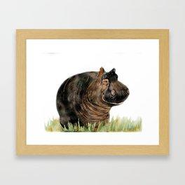 Horatio Hippo Framed Art Print