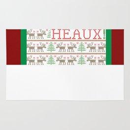 HEAUX! HEAUX! HEAUX! - Ugly Christmas Sweater Rug