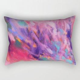 Pink Amethyst Rectangular Pillow