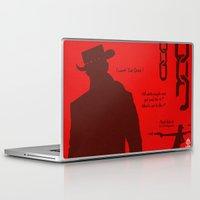 django Laptop & iPad Skins featuring Vector Django Unchained by LoweakGraph