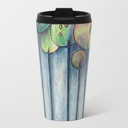 Lollipop Trees 2 Blue Series Travel Mug