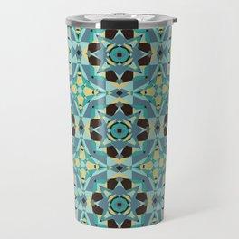 Just Beachy Seamless Pattern Travel Mug