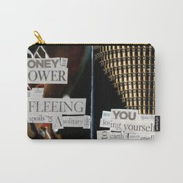 Money for Power Print Carry-All Pouch