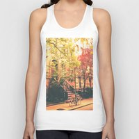 new york city Tank Tops featuring New York City by Vivienne Gucwa