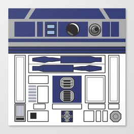 R2D2 - Starwars Canvas Print