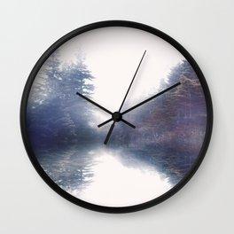 Serene reflections Wall Clock