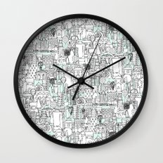 kitchen town Wall Clock