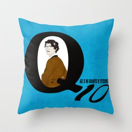 Q: Age Is No Guarantee of Efficiency Throw Pillow
