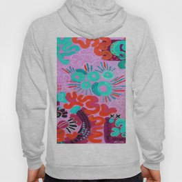 Suns and Rays in Pink Hoody