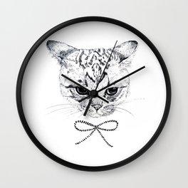 ribbon2 Wall Clock