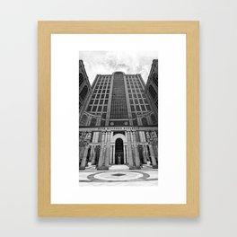 500 Boylston, Boston Framed Art Print