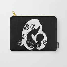 Mother,baby love,minimal illustration  Carry-All Pouch