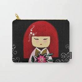 Red Kimi Carry-All Pouch