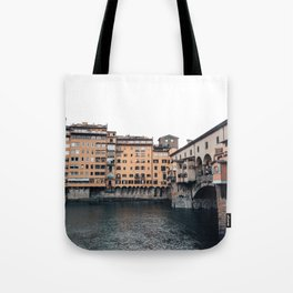 italian Architecture in Florence Tote Bag