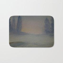 Winter tranquility Bath Mat