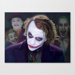 The Jokers Canvas Print