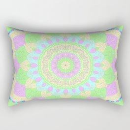 Pastel Mandala Rectangular Pillow