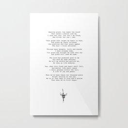 Amazing Grace Metal Print