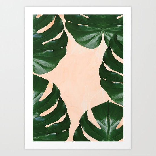 Tropical V4 #society6 #decor #buyart #lifestyle Art Print