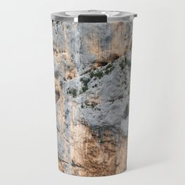 Cliffs in France Travel Mug