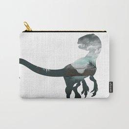 Velociraptor Minimalist Splash Carry-All Pouch