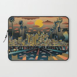 los angeles city skyline Laptop Sleeve