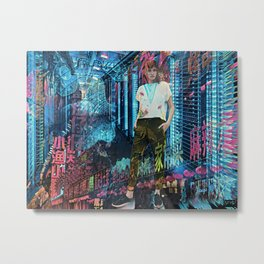 Open Up Your Data And Let It Flow Metal Print