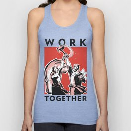 Work Together Unisex Tank Top