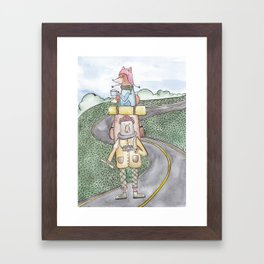 Travelers Framed Art Print