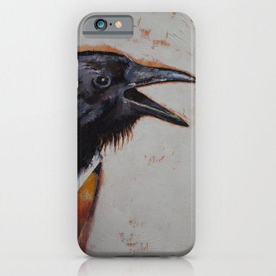 Raven Sketch iPhone & iPod Case