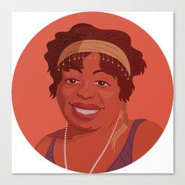 Queer Portrait - Ma Rainey Canvas Print