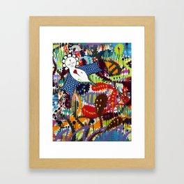 Indie Angel Framed Art Print