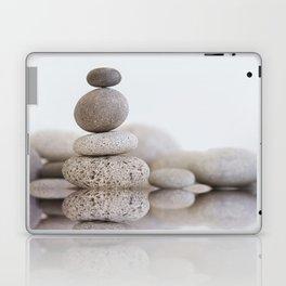 Stone Balance pebble cairn and water Laptop & iPad Skin