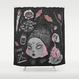 Magical ϟ Autumn Shower Curtain