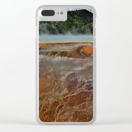 Scalding Lake Clear iPhone Case
