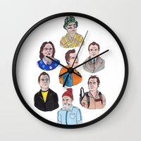 murray Wall Clocks featuring Murray by scoobtoobins