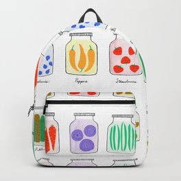 Canning Jars Backpack
