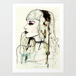 Fashion Illustration No.1 : Watercolour Illustration Art Print