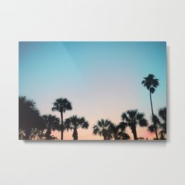 Sky Full of Palm Trees Metal Print