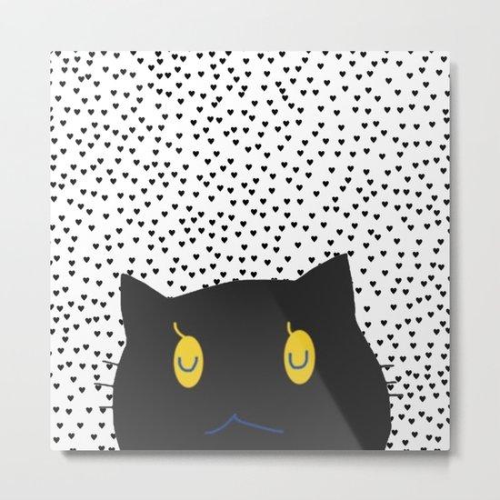 cat-12 Metal Print