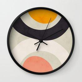 geometric art II Wall Clock
