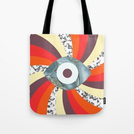 Hypno Retro Eye Tote Bag