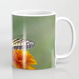 Yellow female Eastern Tiger Swallowtail  Coffee Mug