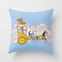 Dashavatar 8 - Krishna Throw Pillow