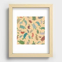 turtles Recessed Framed Print