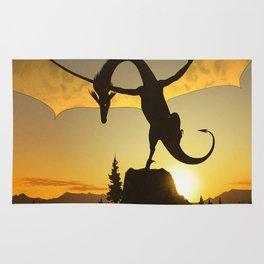 Dragon Sunset Rug