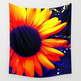 Radiation Flower Wall Tapestry