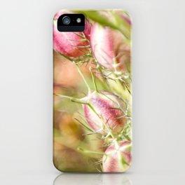 Pretty Nigella iPhone Case