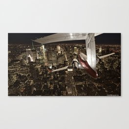 Fly me to New York Canvas Print